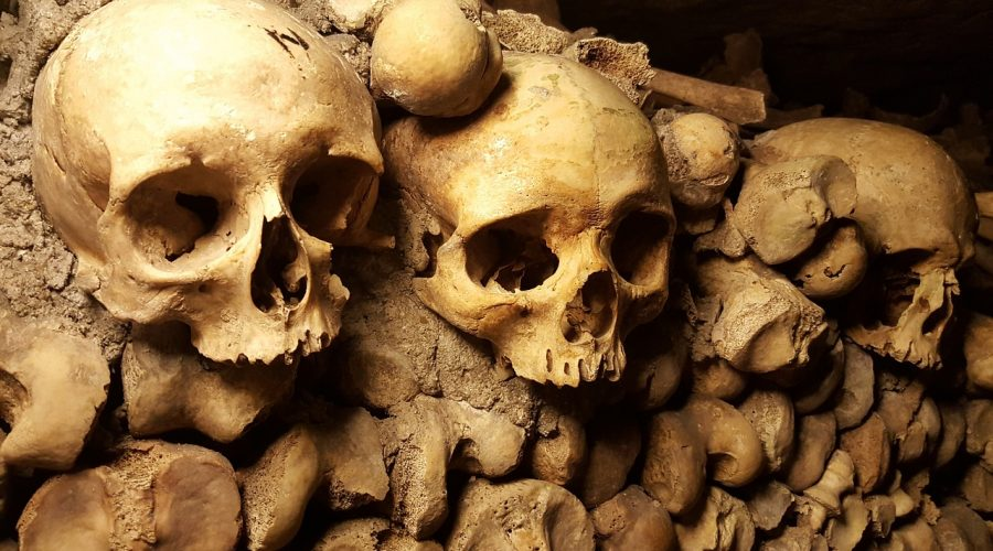 Halloween à Paris- Catacombes